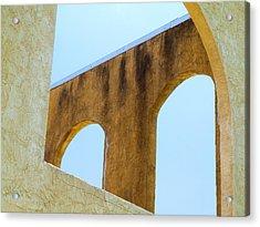 Blue Arches Acrylic Print