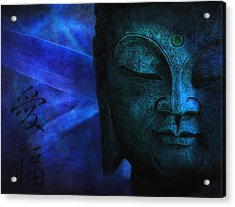 Blue Balance Acrylic Print