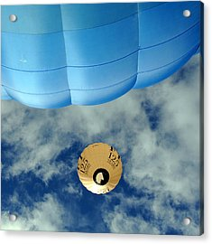 Blue Balloon Acrylic Print by Stephen Richards