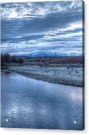 Acrylic Print featuring the photograph Blue Before The Sun by Jenessa Rahn