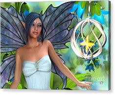 Blue Bell Magic Acrylic Print