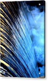 Curtain Acrylic Print by Laurette Escobar