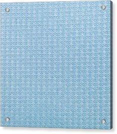 Blue Blanket Acrylic Print by Tom Gowanlock