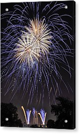 Acrylic Print featuring the photograph Blue Blast by Kevin Munro