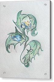 Blue Blossom 2 Acrylic Print