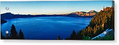 Acrylic Print featuring the photograph Blue Blue Blue by Rob Wilson