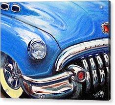 Blue Blue Buick Acrylic Print