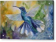 Blue Chitter Acrylic Print