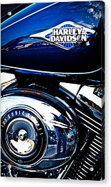 Blue Chopper Acrylic Print by David Patterson