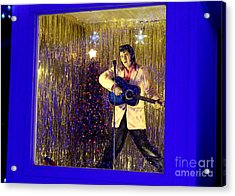 Blue Christmas Without Elvis Acrylic Print by Kathy  White