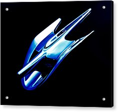 Blue Chrome Jet Acrylic Print by Phil 'motography' Clark