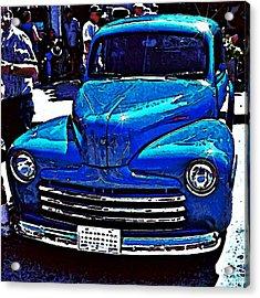 Blue Classic Acrylic Print