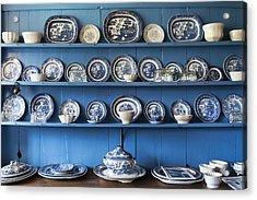 Blue Collection Acrylic Print by Svetlana Sewell