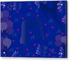 Blue Dance - Limited Edition  Of 30 Acrylic Print