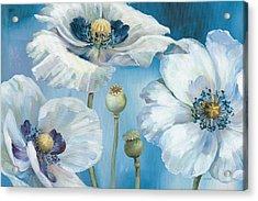 Blue Dance I Acrylic Print