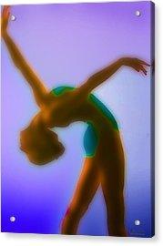 Blue Dance Acrylic Print by Tony Rubino
