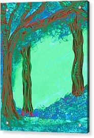 Blue Dawn Acrylic Print