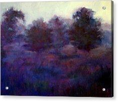 Blue Dawn Acrylic Print by Rosemarie Hakim