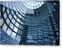 Acrylic Print featuring the photograph Blue Dome by Lorenzo Cassina
