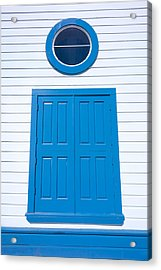 Blue Door Fisherman's Wharf San Francisco Acrylic Print