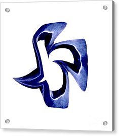 Blue Dove Acrylic Print