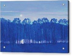 Blue Enchantment Il Acrylic Print
