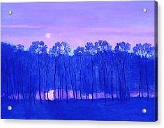 Blue Enchantment Acrylic Print