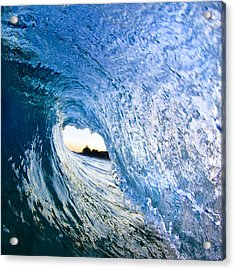 Blue Envelope  -  Part 3 Of 3 Acrylic Print by Sean Davey