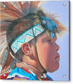Blue Falcon Acrylic Print