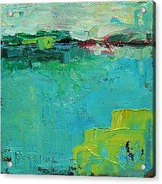 Blue Field Acrylic Print