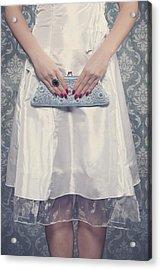 Blue Handbag Acrylic Print by Joana Kruse