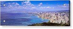 Blue Hawaii Acrylic Print by Les Palenik