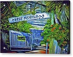 Blue Heaven Key West Acrylic Print