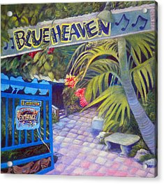 Blue Heaven New View Acrylic Print