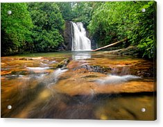 Blue Hole Falls Acrylic Print by Scott Moore