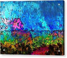 Blue Horizon Two Acrylic Print