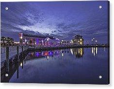 Blue Hour Dawn Acrylic Print by Brian Wright