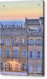 Blue Hour In Provence Acrylic Print