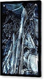 Blue Ice Acrylic Print