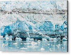Blue Ice Acrylic Print by Melinda Ledsome
