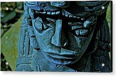 Blue Idol Acrylic Print