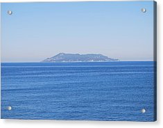 Acrylic Print featuring the photograph Blue Ionian Sea by George Katechis