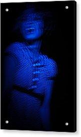 Blue Acrylic Print by Joel Loftus