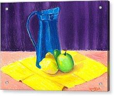 Blue Jug Acrylic Print