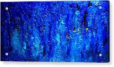 Blue Lagoon 9 Acrylic Print by Henry Parsinia