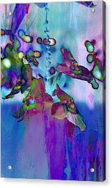 Blue Lagoon Acrylic Print by Carol Kinkead
