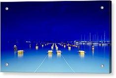 Blue Lagoon Acrylic Print