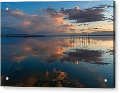 Blue Lagoon. Valencia Acrylic Print