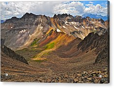 Blue Lakes Pass Acrylic Print