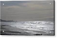 Acrylic Print featuring the photograph Blue Lighthouse View by Susan Garren